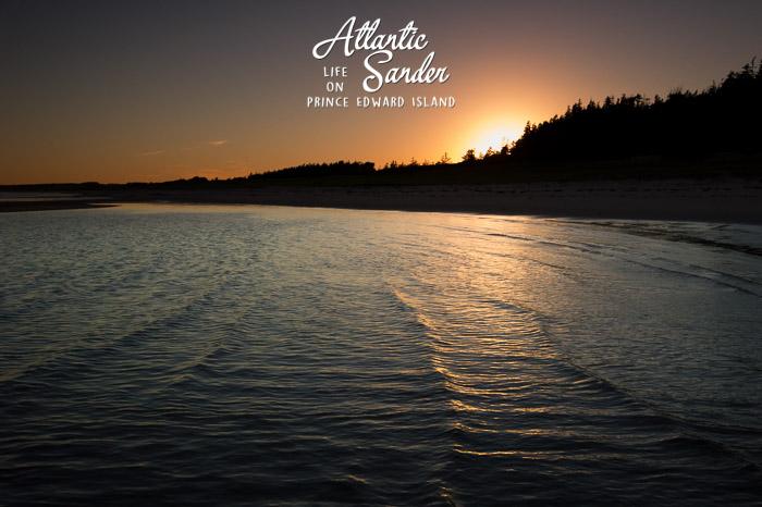 Sunset - Basin Head beach