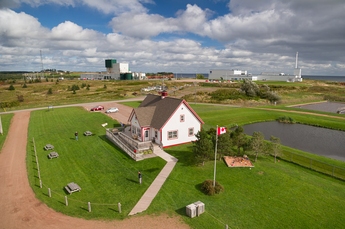 view from the lighthouse - Souris