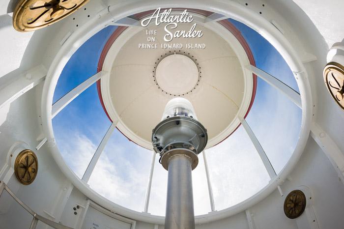 inside the lighthouse - Souris