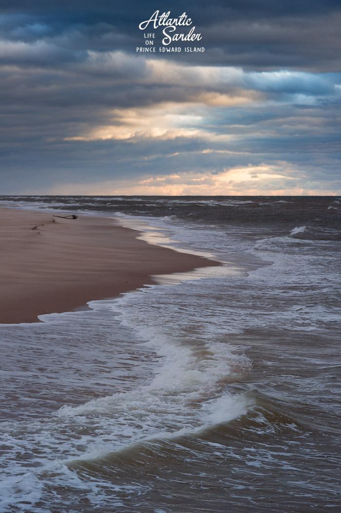 Morning waves - Basin Head Beach